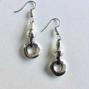 Jewelry - Metal Drop Earrings